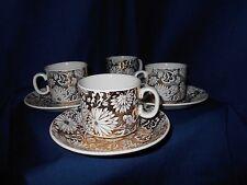 Staffordshire Georgia Royal Tudor Ware Cups and Saucers