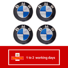 BMW Alloy Wheel Centre Caps 68mm Set of 4 - E30,E36,E46,E92,1,3,5,6,7,X5 X6 M3