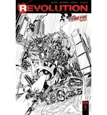 IDW Revolution #1 NYCC B&W Sketch Variant Cover New York Comic Con Exclusive