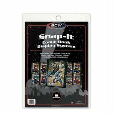 COMIC BOOK SNAP-IT - BLACK x 12 (BCW)