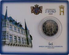 2 Euro commémorative de Luxembourg 2009 Brillant Universel (BU) - Henri & Charlo