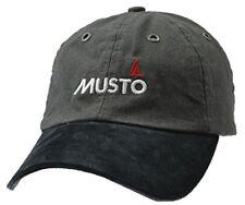 2018 MUSTO EVO Original Crew Cap Dark Grey Ae0191 5d3f274b6372