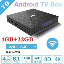T9 Smart Android 8.1 TV Box ✅4GB+32GB ✅KD18 4K HD Media Player WI-FI Bluetooth