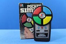 Vintage 1980 Pocket Simon with box
