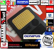 Genuine Olympus 8MB SM SMARTMEDIA CARD-Carte mémoire Memoria KORG-GALILEO-ROLAND