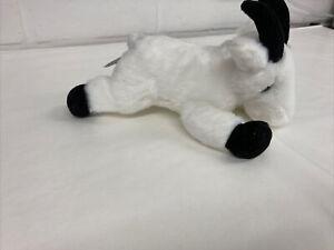 White Aurora Plush Goat