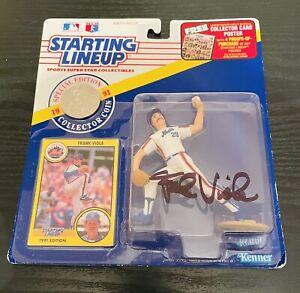 Frank Viola Autographed New York Mets Starting Lineup Action Figure/ JSA