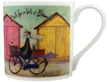Sam Toft Out For A Bit O' Brunch Bone China White Mug
