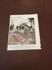 m12a ephemera ww2 1945 picture british soldier 11th armoured division near elbe