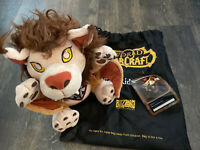 Wind Rider Cub Plush w/ Unused Code & Bag  - WoW - World Of Warcraft