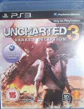 UNCHARTED 3 DRAKE'S DECEPTION PS3 USATO EDIZIONE INGLESE (NO LINGUA ITALIANA)