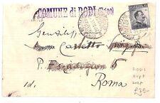 Ar254 1913 Italia utilizzati all' estero * Rodi * OVERPRINTS Rodi Rodos Grecia coprono ROMA