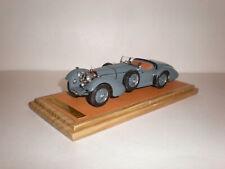1/43 1930 Mercedes Benz SS Roadster Erdmann & Rossi open grey EMC Handmade