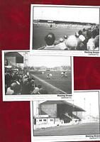 3 postcards of Dartford Football Clubs old Watling Street ground