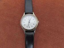 Ladies Avia 162601 Quartz Wristwatch Leather Strap