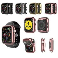 For Apple Watch Series 5/4/3/2 Case Cover 4 Pack Screen Protector 42 38 40 44mm
