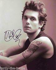 John Mayer  8 x 10 Autograph Reprint  Your Body Is a Wonderland Half of My Heart