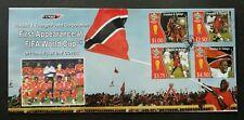 Trinidad and Tobago Germany FIFA World Cup Football 2006 Sport Games Flag (FDC)