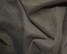 "Brown Cord Corduroy 11 Wale Fabric 100% Cotton 58"" / 145Cm Width By The Metre"