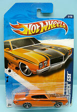 2064 HOT WHEELS / CARTE US / MUSCLE MANIA 2010 / BUICK GSX 1970 1/64