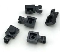 Lego 5 New Plates Modified 1 x 1 with Clip Horizontal thick open U clip Parts