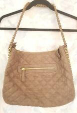 Urban Expressions brown faux leather shoulder bag