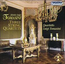 Tomasini: Three String Quartets, New Music