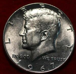 Uncirculated 1967 Philadelphia Mint Silver Kennedy Half