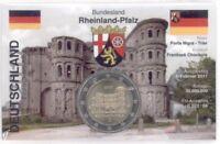 2 Euro Coincard / Infokarte Deutschland 2017 Porta Nigra