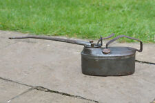 old oil can dispenser vintage long nose spout oiler can oilcan  - FREE POSTAGE