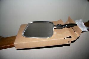 "NEW!  LIFETIME COOKWARE Cookware - 11"" SQUARE GRIDDLE  SS Removable Handle"