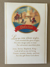 """God's Love"" Christian Christmas Card By DaySpring Cards~6 3/4"" X 4 3/4"", NEW!"