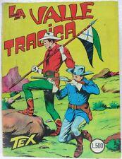 TEX n° 33 - La valle tragica - Lire 500-Novembre 1966