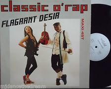 "FLAGRANT DESIR ~ Classic O Rap ~ 12"" Single PS FRENCH PRESS"