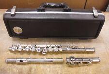 Selmer Bundy Flute in Original Case MATCHING Serial Numbers AS IS *bw6