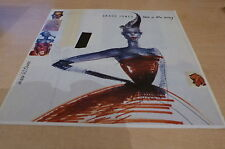 GRACE JONES - LOVE IS A DRUG - RARE EURO DISPLAY !!!!!!!!!!!!!!!!!