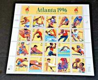 CatalinaStamps: US Mint Sheet #3068 1996 Summer Olympics, SCV=$14, Lot #B125