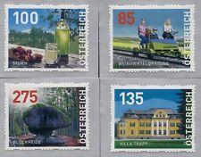 Österreich , Dispenser-Marken,13 Auflage 4 Werte  postfrisch/MNH,
