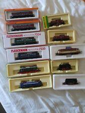 Lokomotiven konvolut Spur N E-Lok, Diesellok, Dampflok