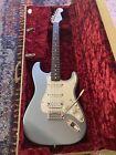 Fender Stratocaster 2002 MIM HSS Agave Blue Rosewood w Fender G&G Case
