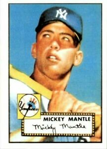 MICKEY MANTLE 1952 Topps Card #311 Reprints YANKEES!