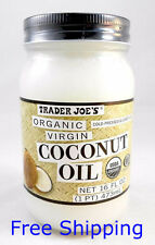 Trader Joe's Organic Virgin Cold-Pressed & Unrefined Coconut Oil - Best Deal