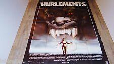 HURLEMENTS  ! joe dante  affiche cinema loup-garou