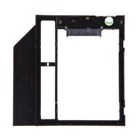 "9.5mm 2.5"" SATA-13Pin 2nd HDD SSD Hard Drive Caddy for PC CD/DVD-ROM Optical Bay"
