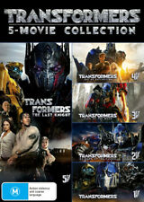 Transformers 1 2 3 4 5 Box Set Movie Collection DVD R4 New!