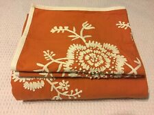 Pottery Barn French Knot Floral Embroidered Duvet Cover Set Full/Queen