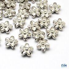 50g 50+pcs CCB Acrylic Flower Spacer Bead Craft Beads 15x8mm Hole 1.5mm