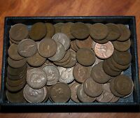 Australian pre decimal  pennies 1kg lot coins are in good order