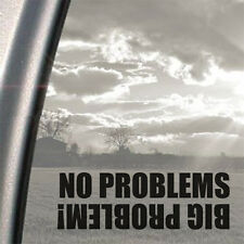 No Problems 4x4 Off Road Land Rover Jeep Funny Sticker