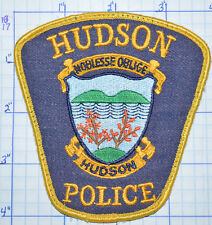 CANADA, HUDSON POLICE DEPT QUEBEC PATCH